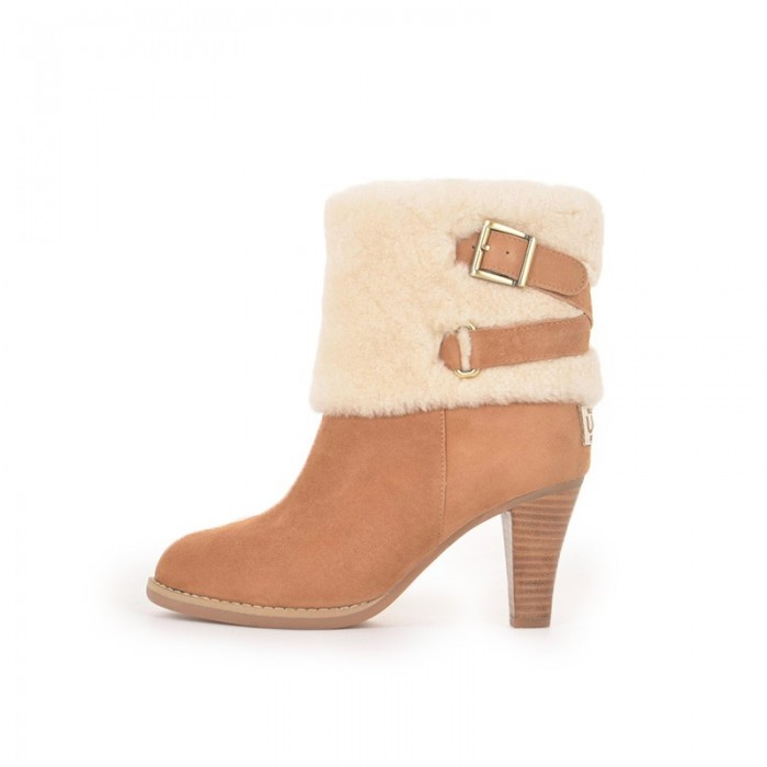 Wooltop High Heeled Boots R301